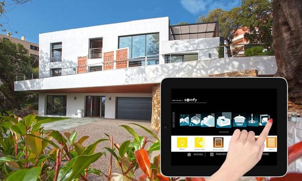 Automatiser la maison avec Somfy